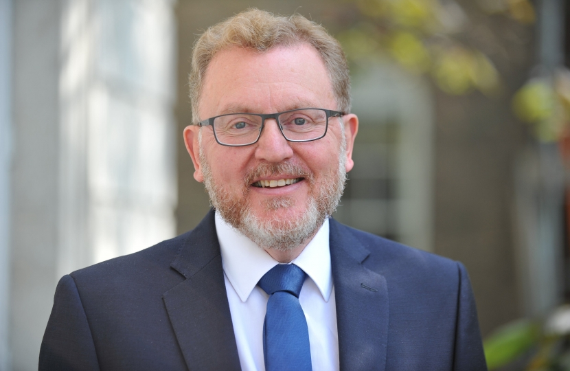 David Mundell is honoured to be re-appointed Secretary of State for Scotland