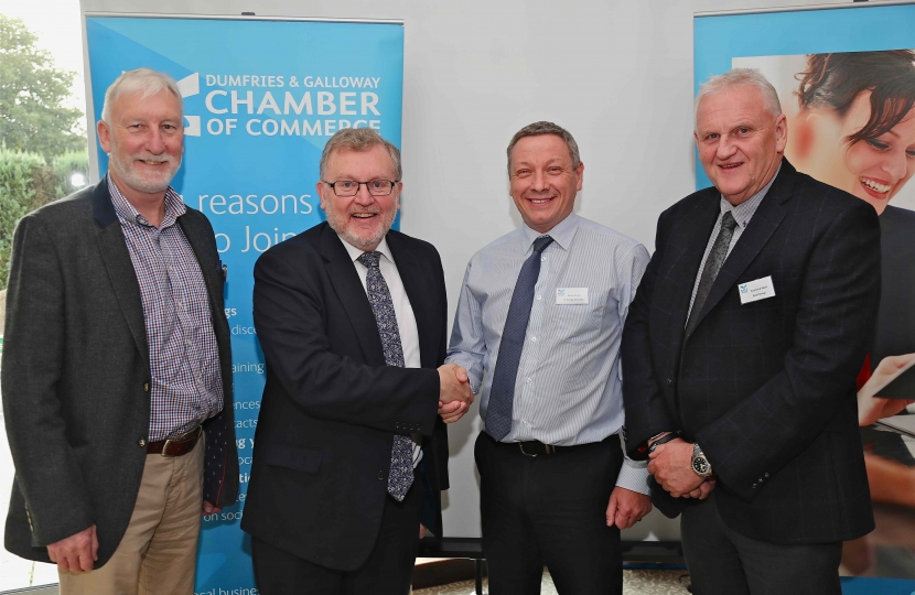David Mundell Lee Medd DG Chamber