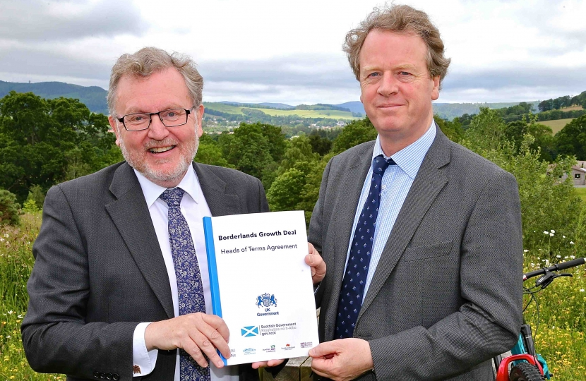 David Mundell MP Alister Jack MP Scottish Secretary