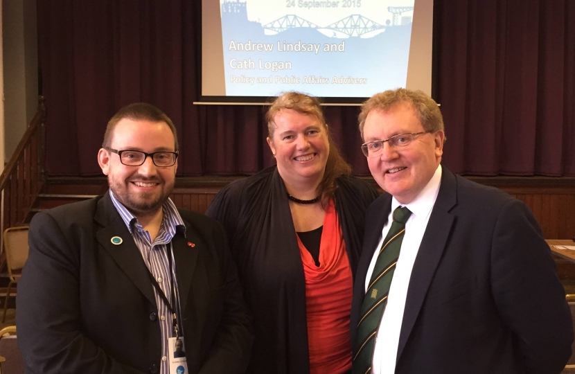David Mundell welcomed voluntary organisations to a Big Lottery Fund event